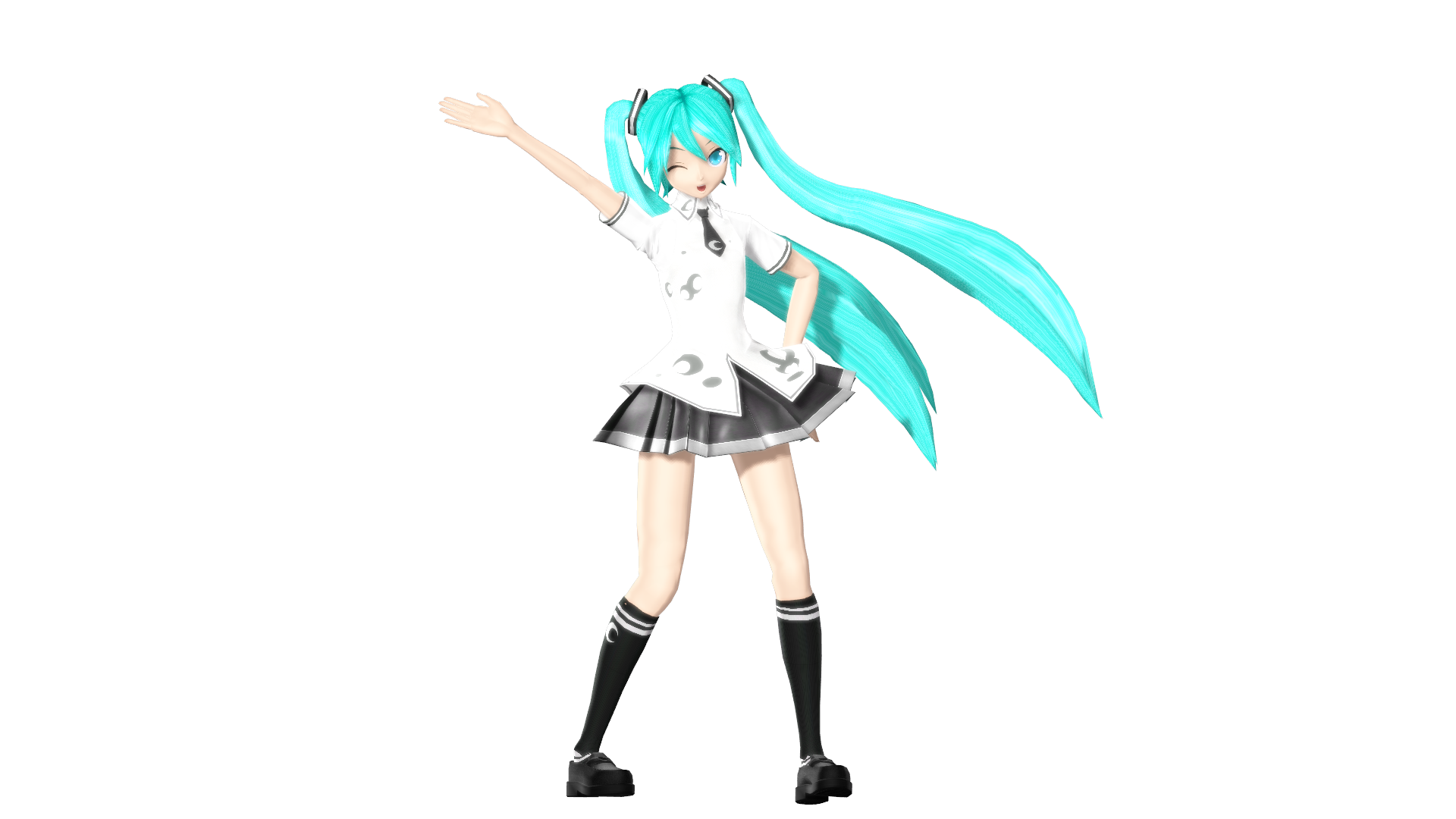 MMD DT Rolling Girl Mikupa ver by willianbrasil