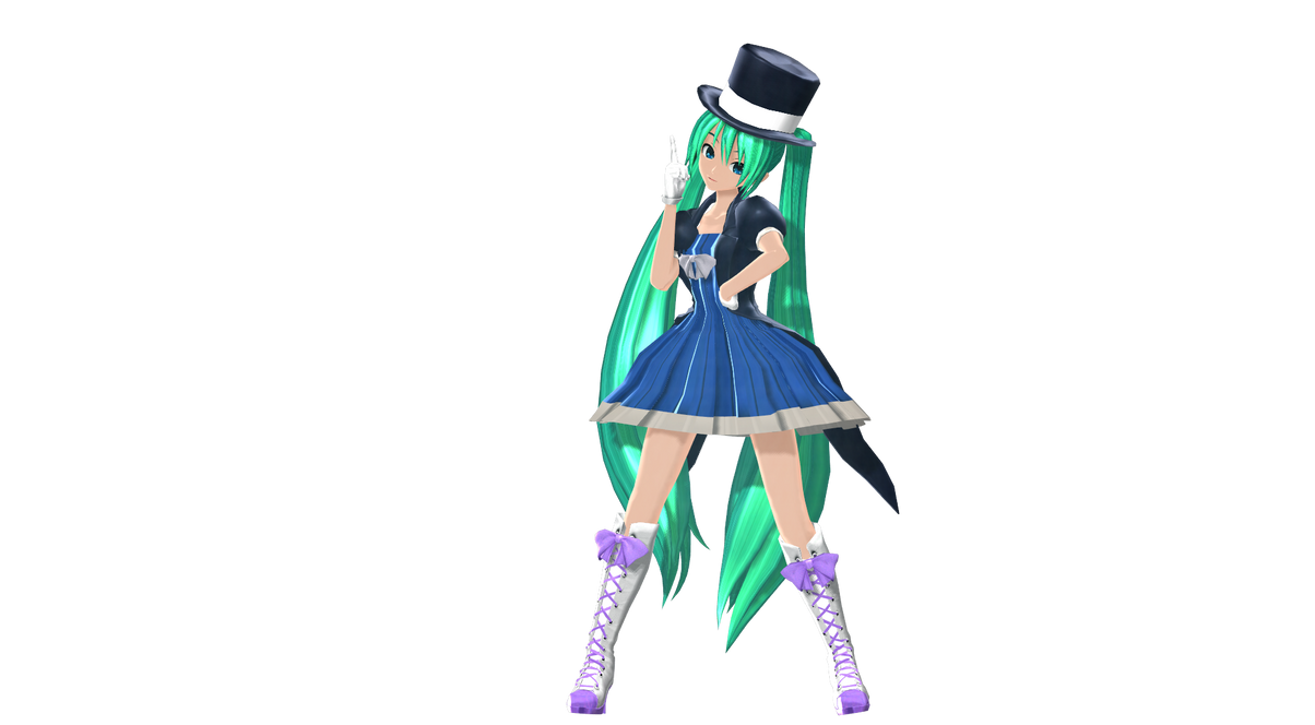 MMD DT Magical Mirai Miku Preview By Willianbrasil On