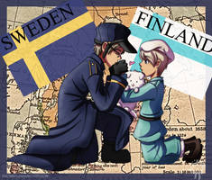 Sketch 02: Sweden x Finland by Neverjay