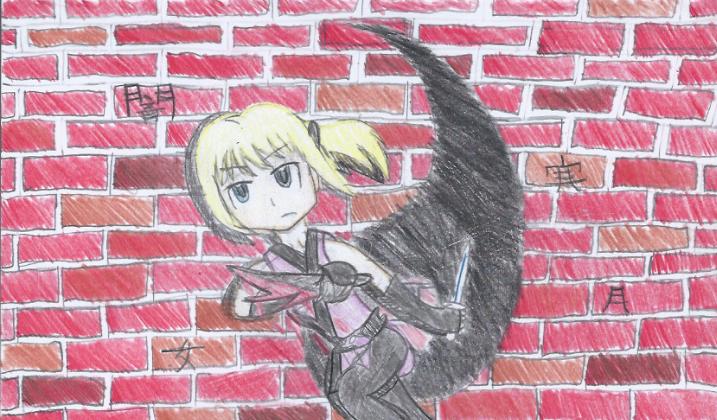 Mayu the Black Dragon by MagicalAkariChan