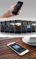 Mobile Application Design - Velocity Airlines by lordcemonur