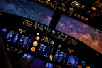 737 Lining up with Milkyway