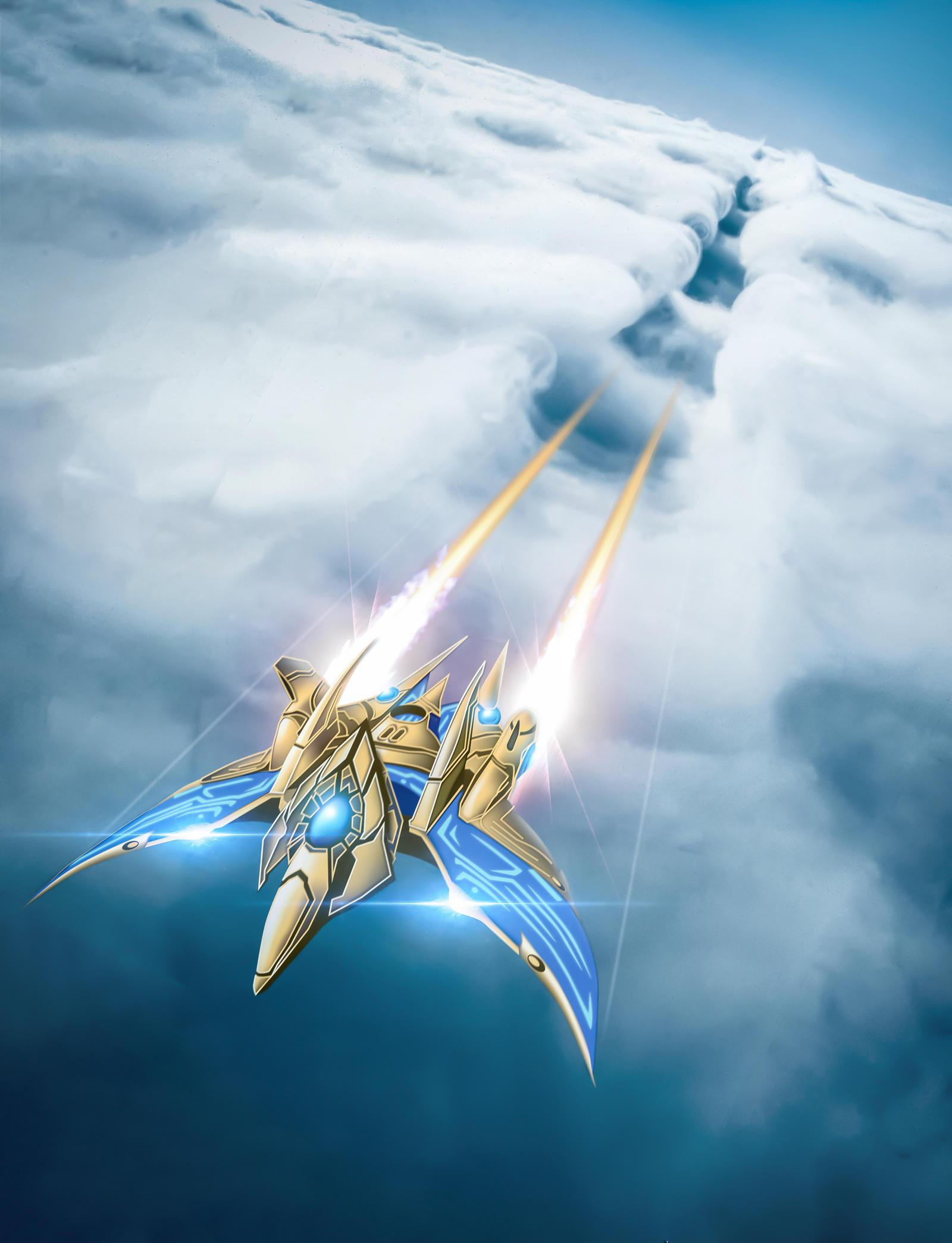 Protoss Phoenix by lordcemonur