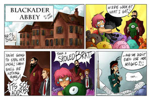 Blackader Abbey: Spoiled by MyHatsEatPeople