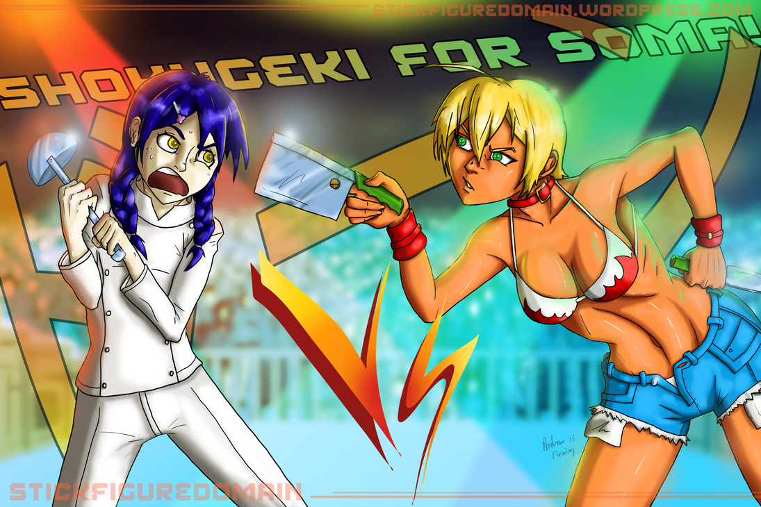 Shokugeki For Soma by Stickfigure5000