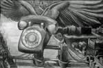Flying Telephone