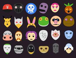 Majora's Masks by Cornmanthe3rd
