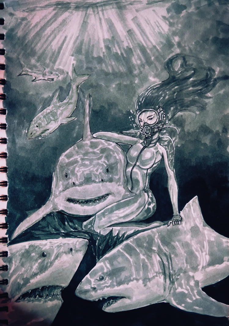Underwater beauty by kratos6619