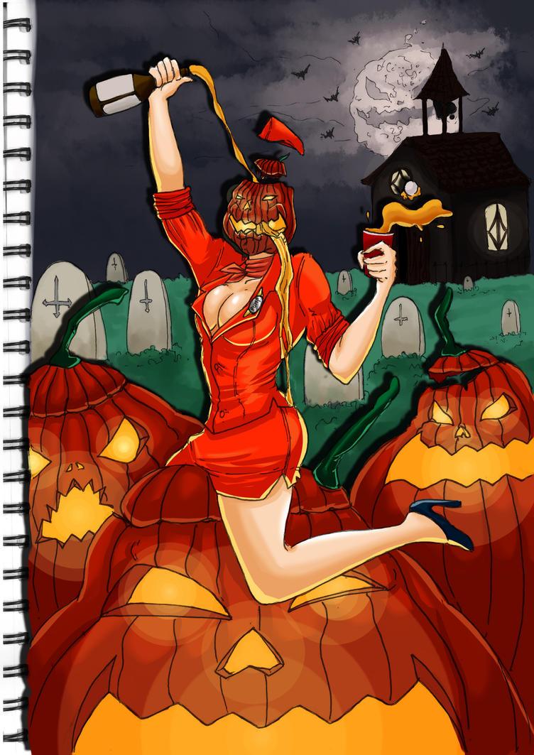 Pumpkin Madness by kratos6619
