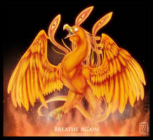 10. Breathe Again by WhiteMantisArt