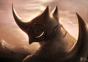 Blade Under Mask: Lost But Seeking by WhiteMantisArt