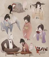 Blade Under Mask: Everyday by WhiteMantisArt
