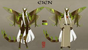 Blade Under Mask: Eien by WhiteMantisArt
