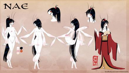 Blade Under Mask: Asazaki Nae by WhiteMantisArt