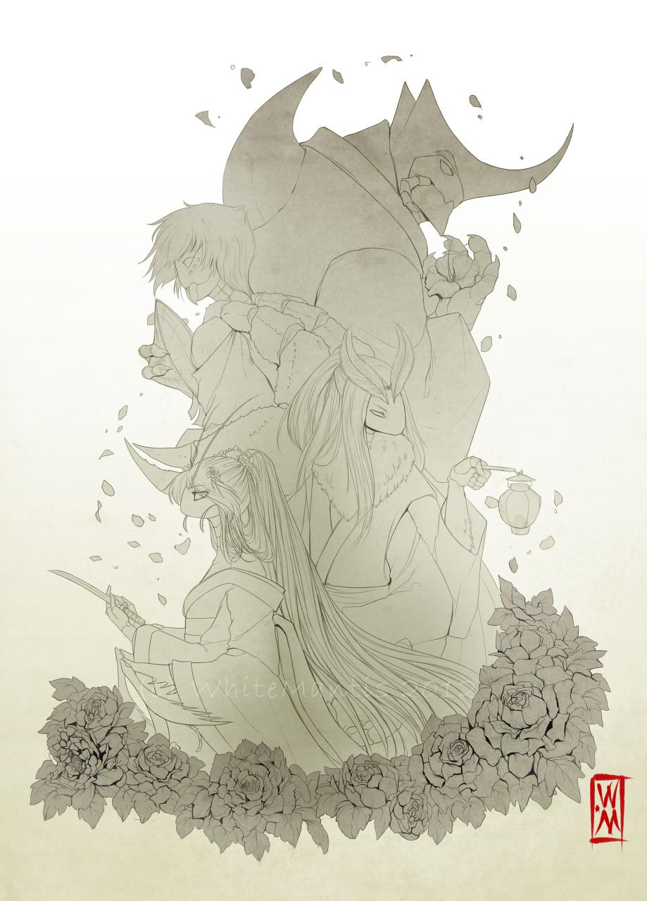 Blade Under Mask: Horizon by White-Mantis