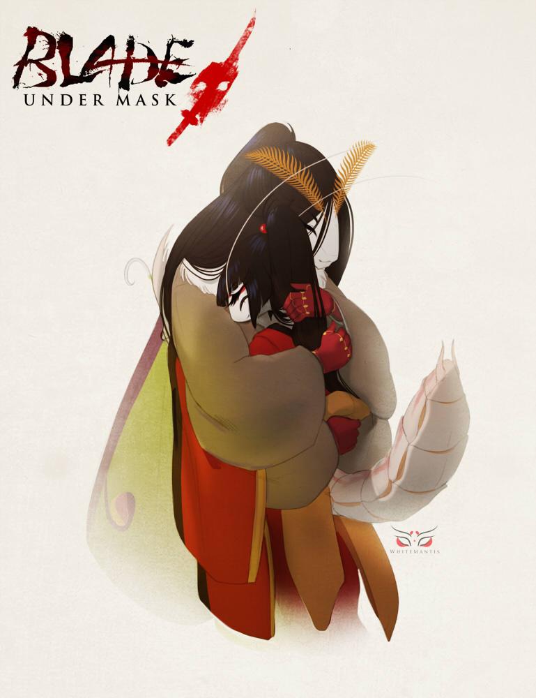 Blade Under Mask: Best Friends by White-Mantis