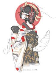 Blade Under Mask: Maiko Asamitsu