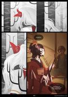 Blade Under Mask - 5 by WhiteMantisArt