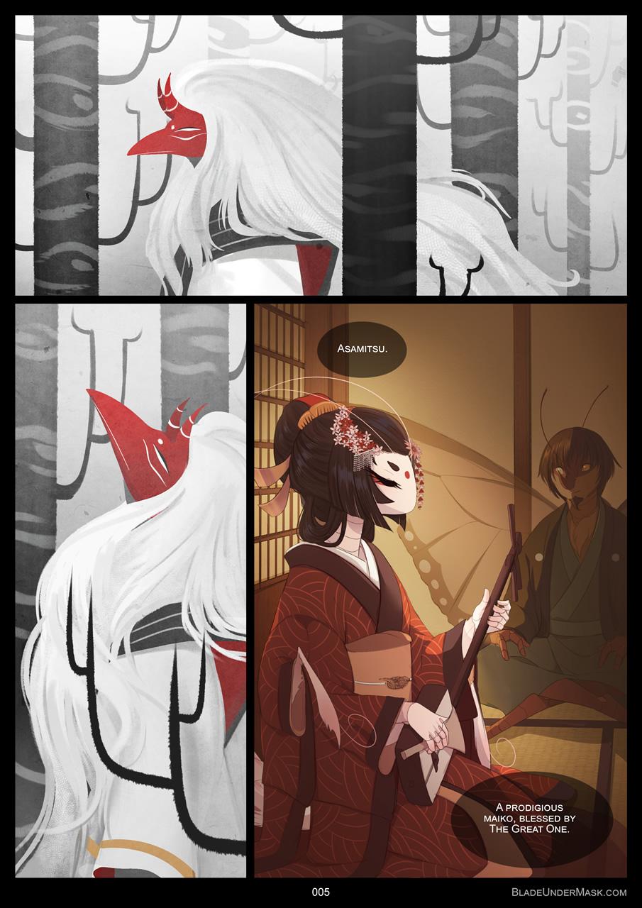 Blade Under Mask - 5 by White-Mantis