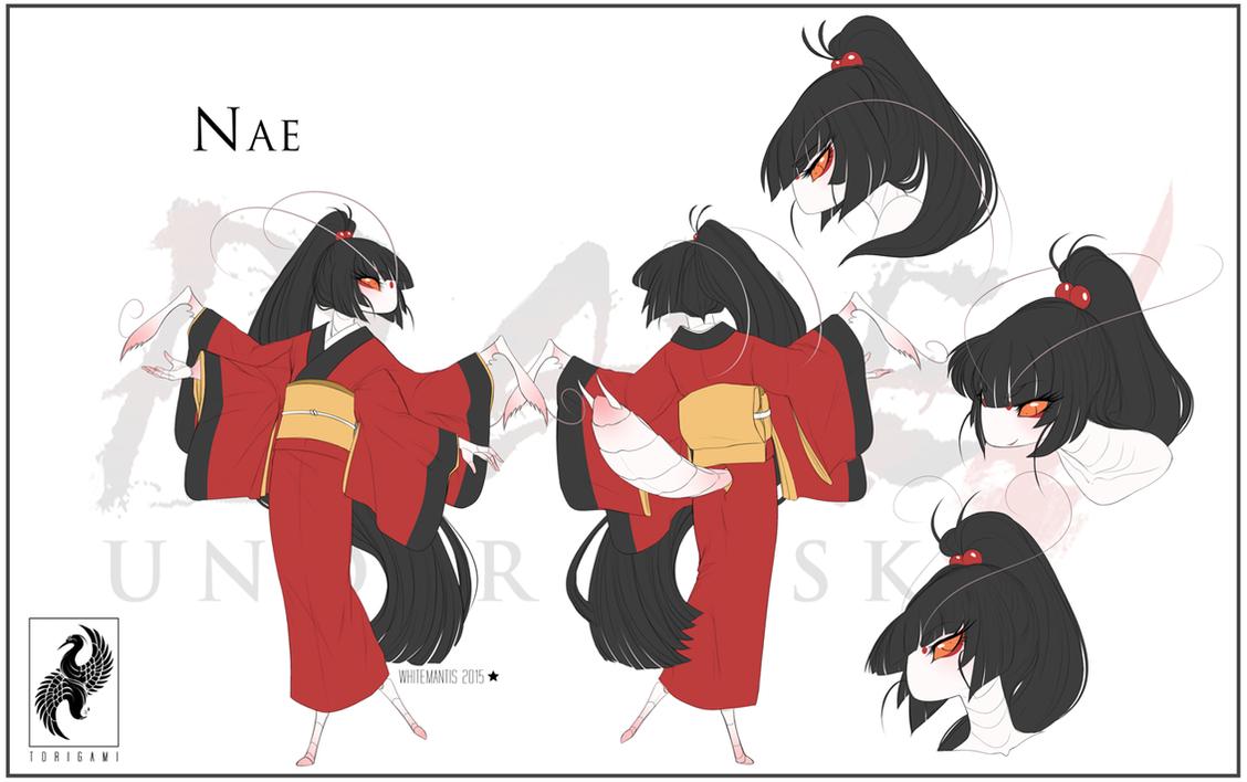 Blade Under Mask: Nae by WhiteMantisArt
