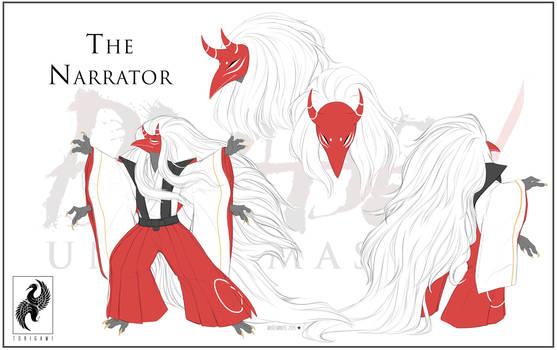 Blade Under Mask: The Narrator