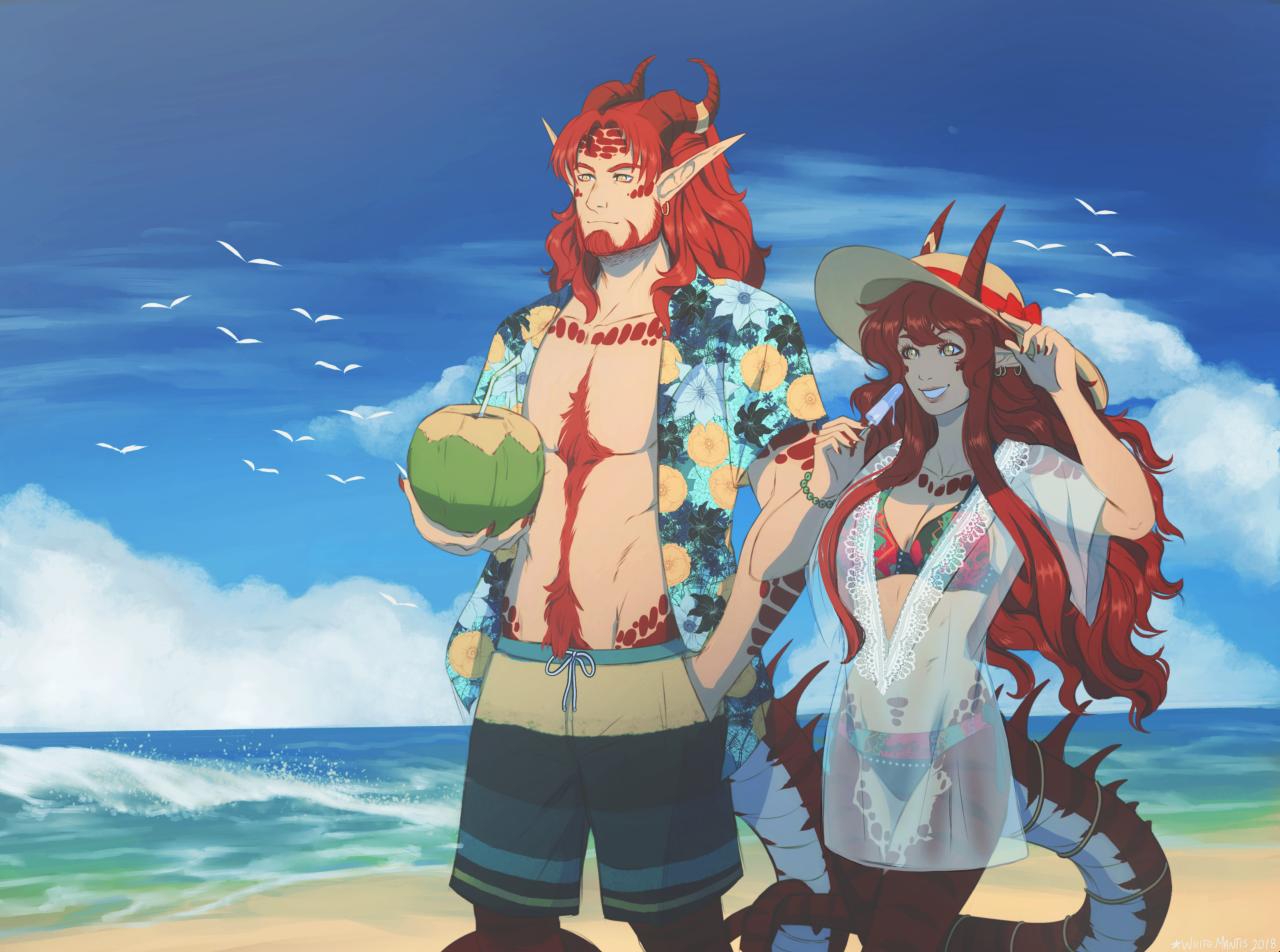 Summertime by WhiteMantisArt