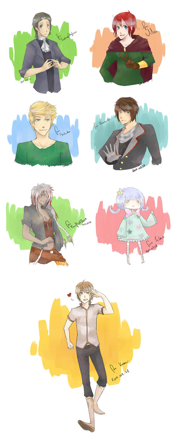 Free Sketches II. by EeNii