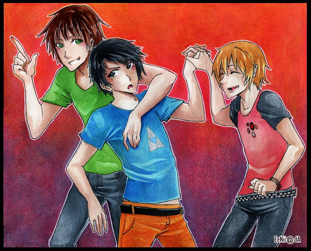 CM - Three of us. by EeNii