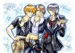 Kyo, Squall and Zero? XD