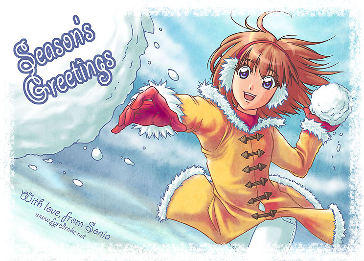 Season's Greetings 2010 by sonialeong