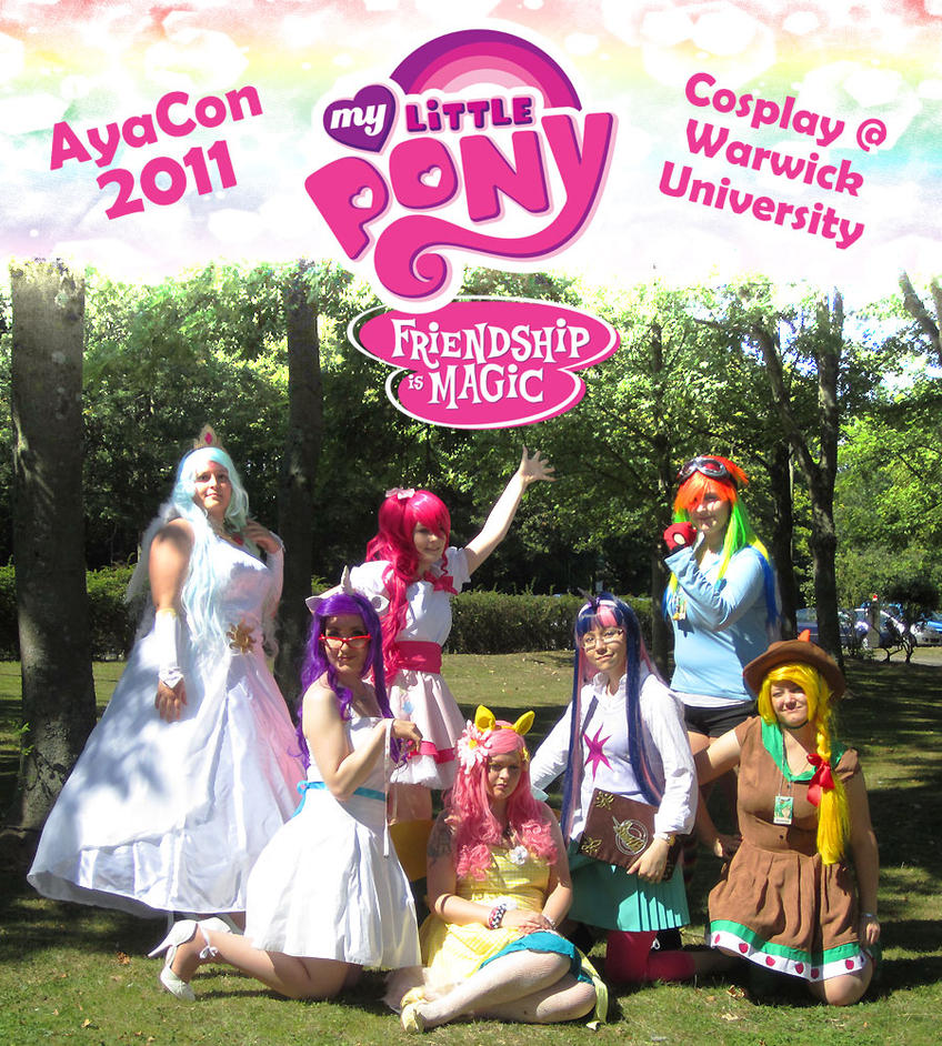 My Little Pony Cosplay group by sonialeong on DeviantArt