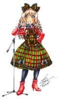 Marker portrait - Lolita Singer by sonialeong