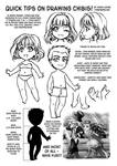 Quick tips on drawing chibis