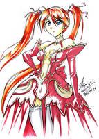 Negima! Asuna sketch by sonialeong