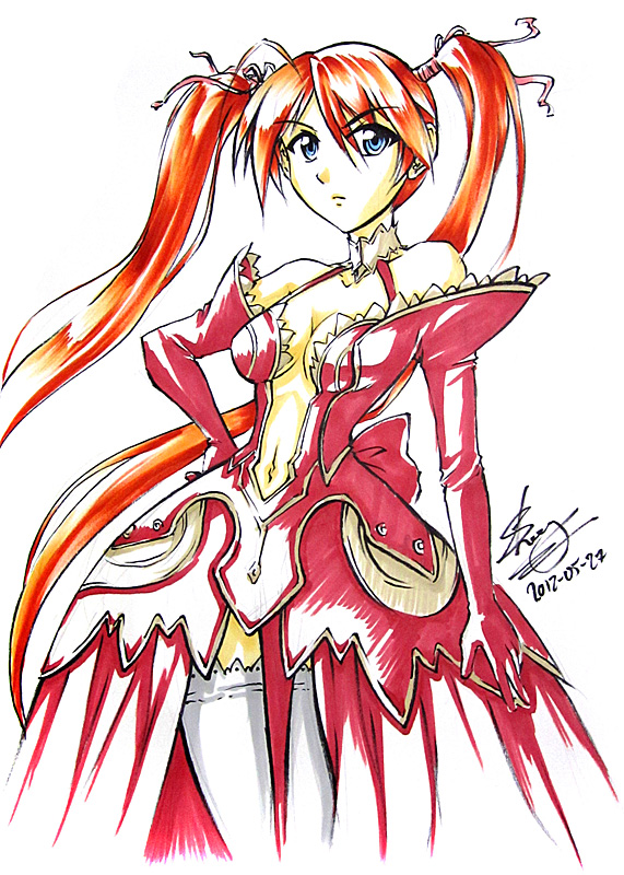 asuna hair style negima asuna sketch by sonialeong on deviantart 3405