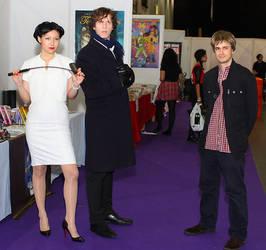 BBC Sherlock Group Cosplay
