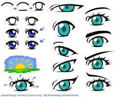 Drawing Manga Eyes - Basics