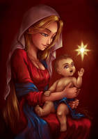 Madonna and Child by sonialeong