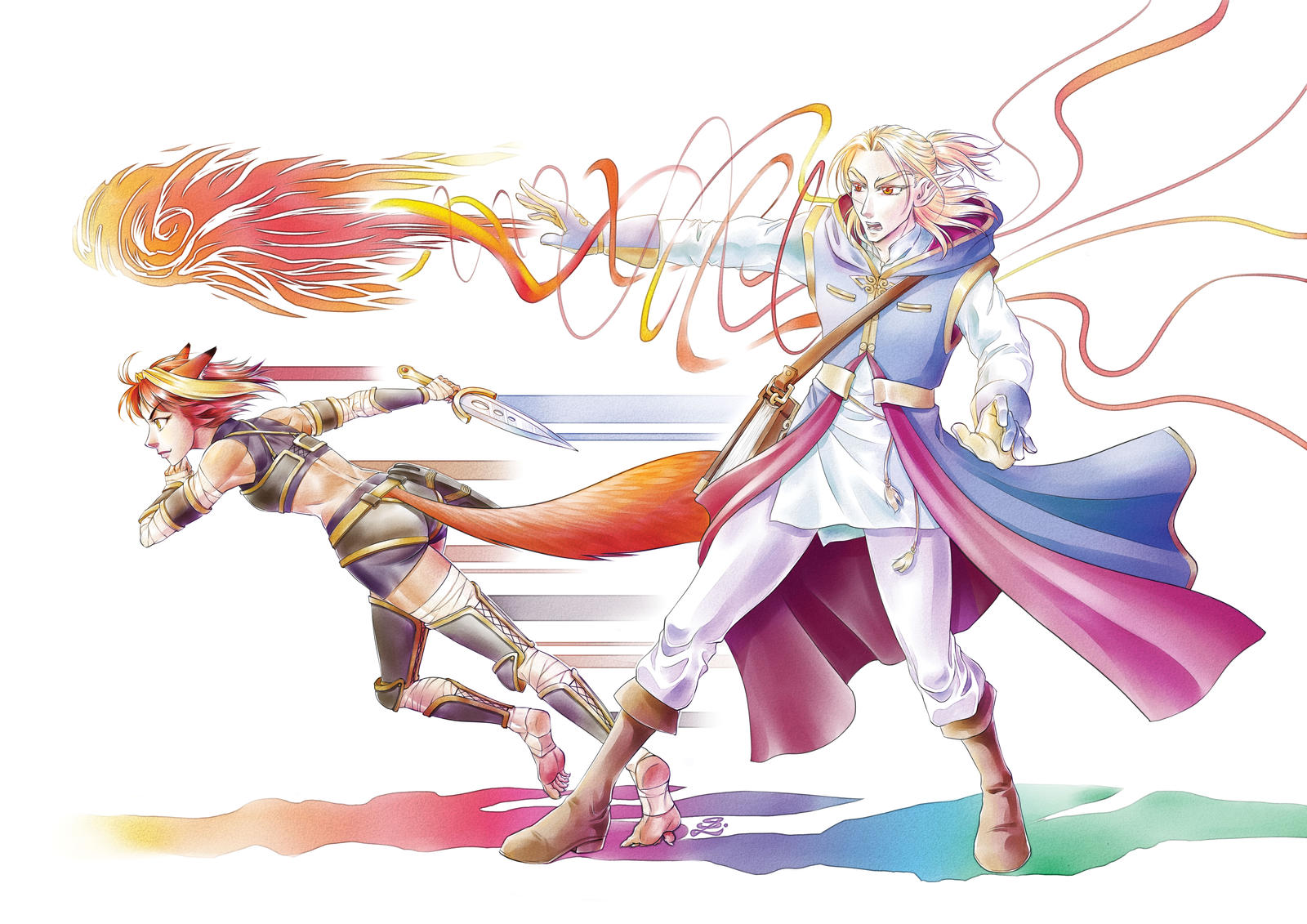Dual Assault - The Colours Of Magic by sonialeong