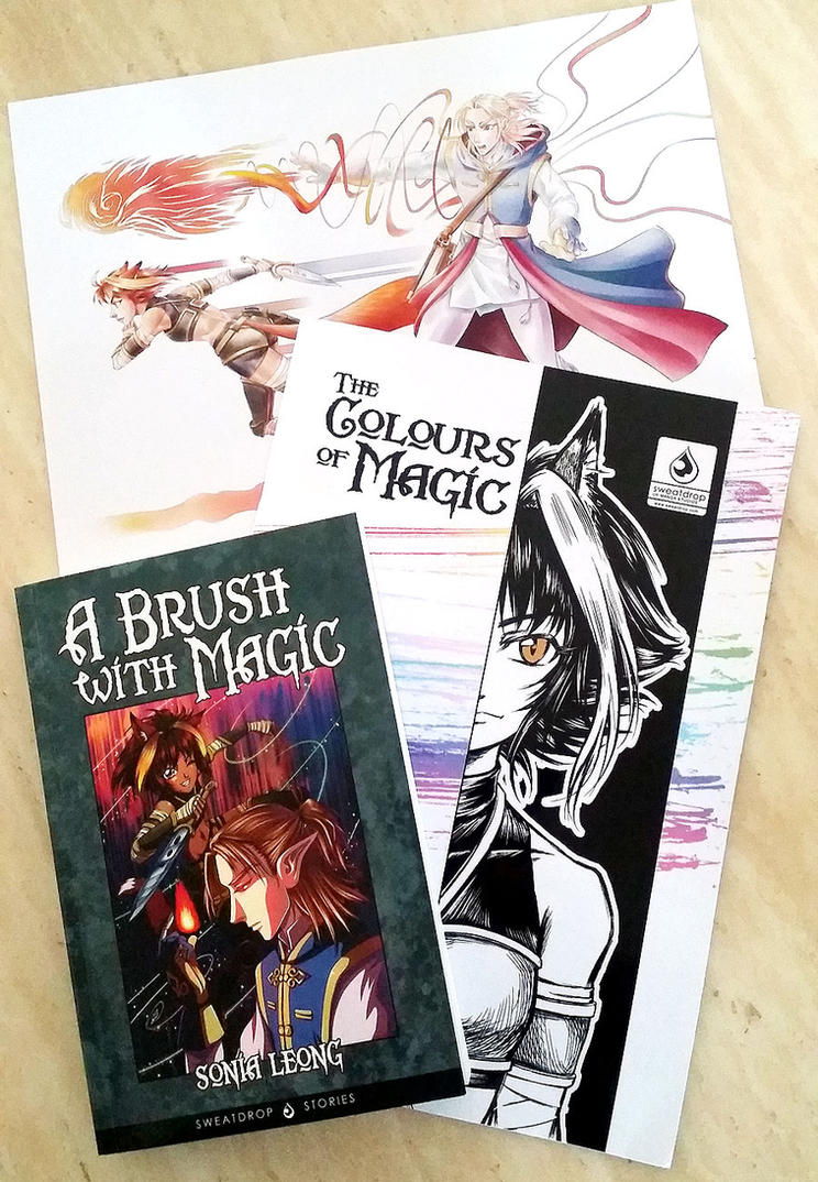 A Brush With Magic now for sale online! by sonialeong