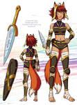 Final character design for Ruadhri'ogan
