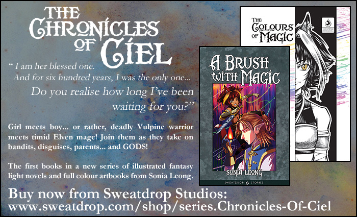 Chronicles of Ciel web advert by sonialeong
