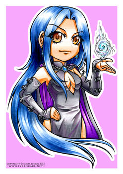 Sorceress coloured markers by sonialeong