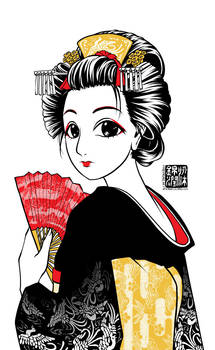 Maiko Apprentice Geisha