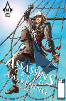 Assassin's Creed: Awakening Manga variant cover