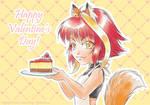 Happy Valentines Day cheesecake