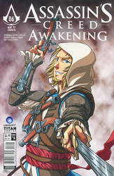 Assassin's Creed: Awakening Manga cover variant