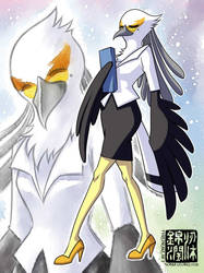 Washimi Aggretsuko Aggressive Retsuko fan art