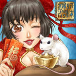 Happy Chinese New Year 2020 Year of the Rat by sonialeong
