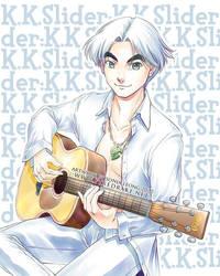 K.K.Slider gijinka / human version